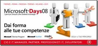 Microsoft Days 2008 Firenze