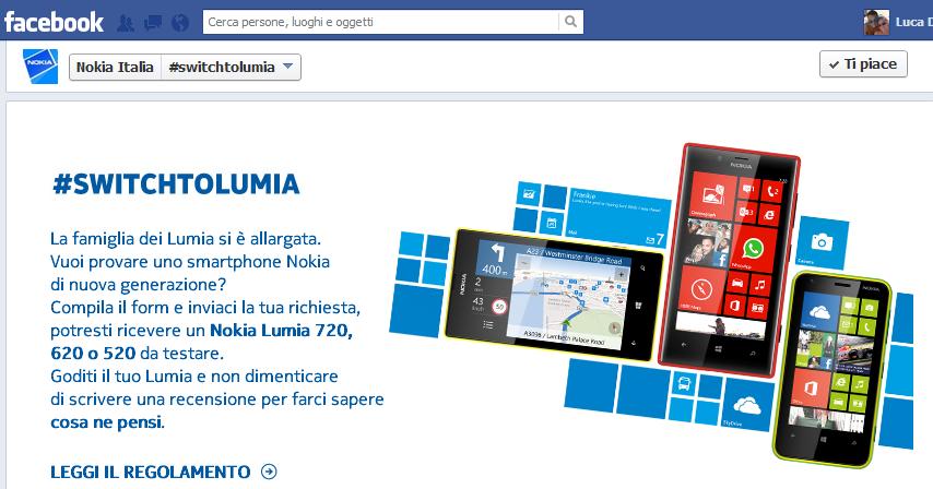 Nokia Italia SwitchToLumia