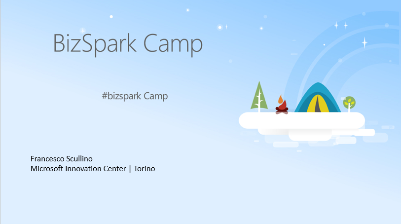 BizSpark Camp @ Working Capital